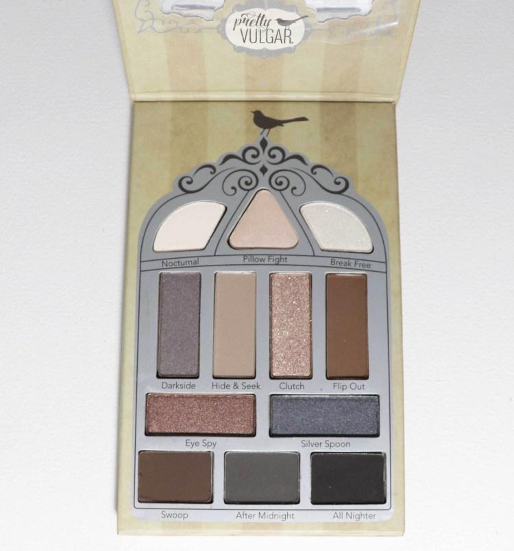 Pretty Vulgar Nightingale 12 pan Eyeshadow Palette