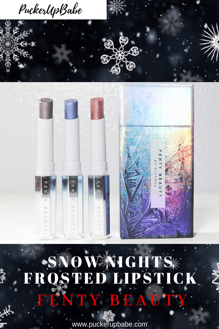 Fenty Beauty Snow Nights Frosted Lipstick