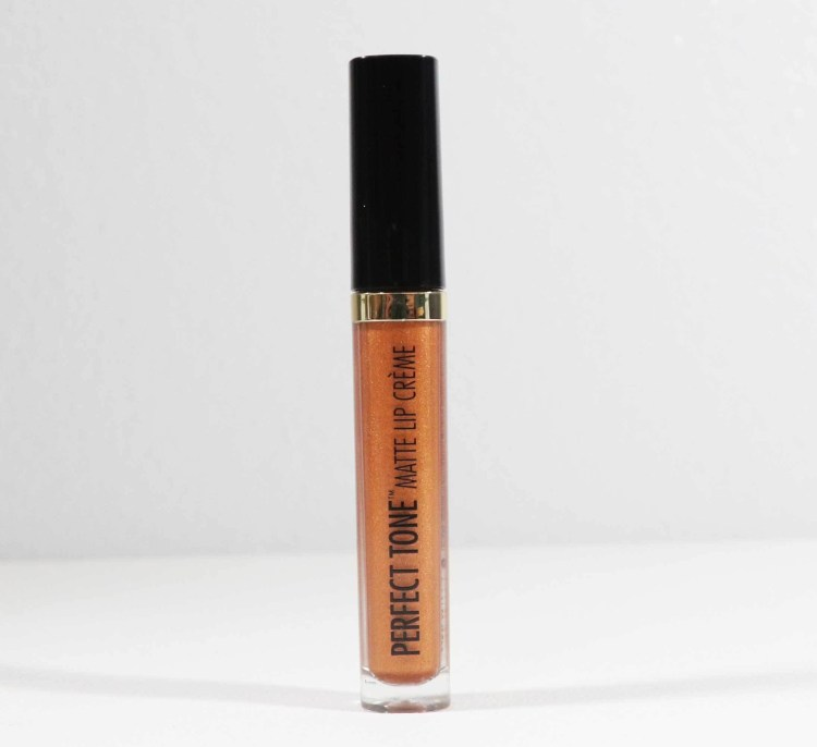 Perfect Tone Metallic Matte Lip Créme Bronze