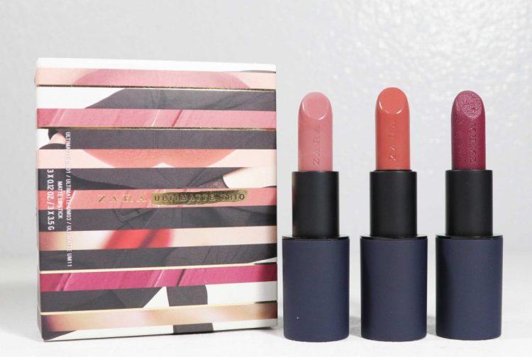 Zara Ultimatte Trio Lipstick