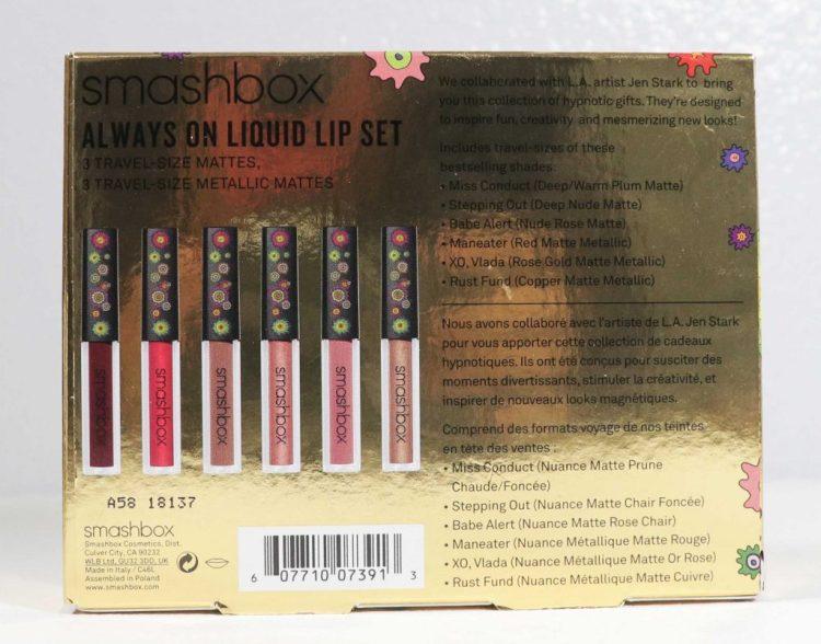 Smashbox Always On Liquid Lipstick Set