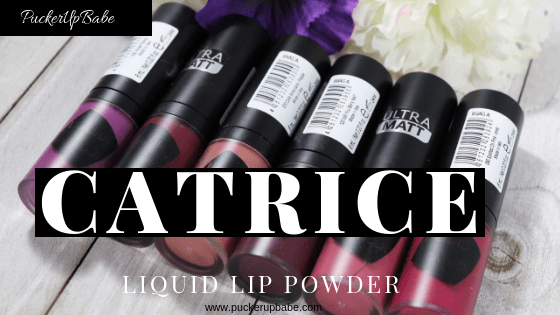 Catrice Ultra Matt Liquid Lip Powders