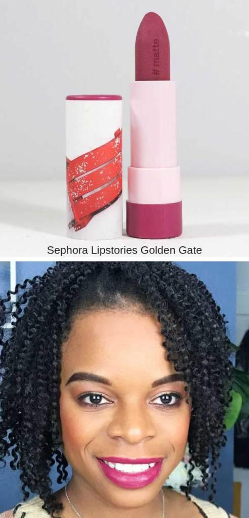 Sephora Lipstories Golden Gate
