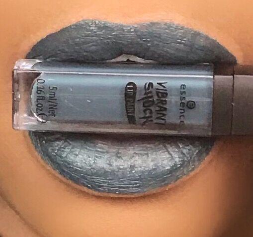 Essence Vibrant Shock Lip Paint in Black Widow
