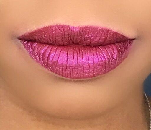 Essence Cosmic Cuties Glitter Switch Liquid Lipstick in Sparkling Bordeaux