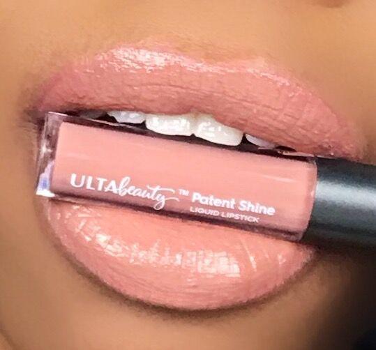 Ulta Beauty Patent Shine Liquid Lipstick Cannes