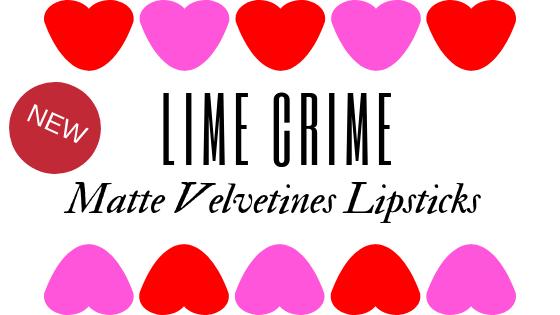 Lime Crime Valentine 2019 Velvetine Lipstick