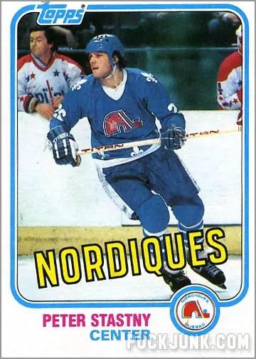 1981-82 Topps #35 - Peter Stastny