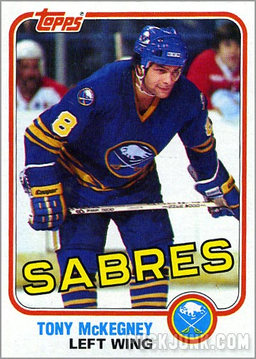 1981-82 Topps #76 East - Tony McKegney