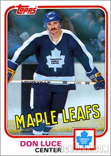 1981-82 Topps #99 West - Don Luce