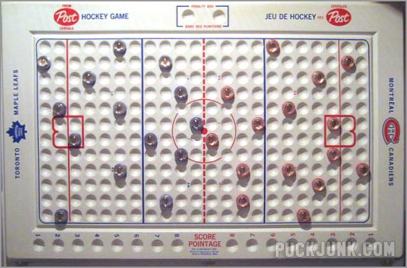 1968-69 Post Marbles Game Board