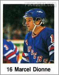 1988-89 Frito Lay Stickers - Marcel Dionne