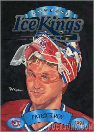 1993-94 Donruss Ice Kings Patrick Roy