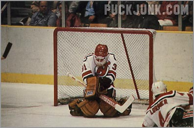 1985-86 New Jersey Devils #2 - Craig Billington