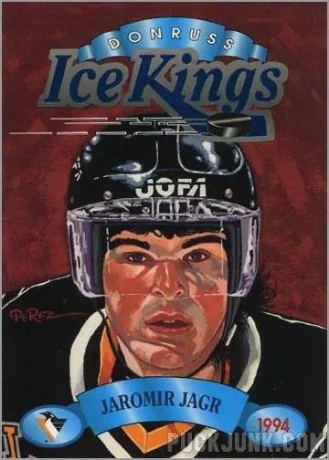 1993-94 Donruss Ice Kings Jaromir Jagr