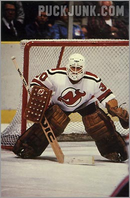 1985-86 New Jersey Devils #3 - Alain Chevrier