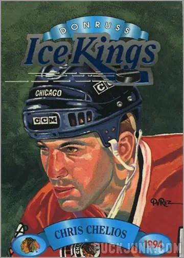 1993-94 Donruss Kings Ice Chris Chelios