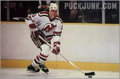 1985-86 New Jersey Devils #7 - Craig Wolanin
