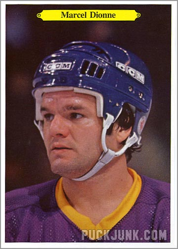 1980-81 OPC Super Photos #8 - Marcel Dionne