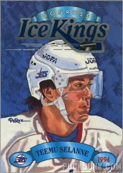 1993-94 Donruss Ice Kings Teemu Selanne