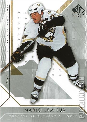 2006-07 SP Authentic #23 - Mario Lemieux