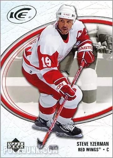 2005-06 Upper Deck Ice #31 - Steve Yzerman