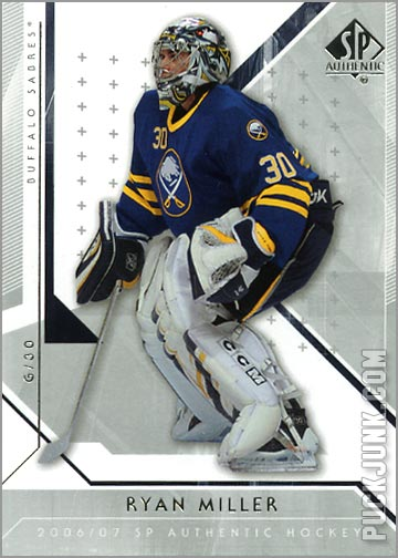 2006-07 SP Authentic #89 - Ryan Miller