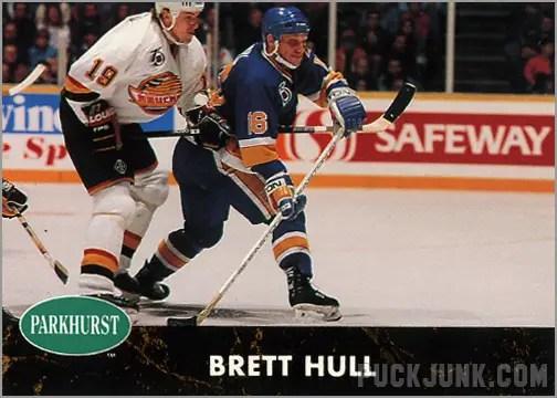 1991-92 Parkhurst #157 - Brett Hull