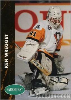 1991-92 Parkhurst #357 - Ken Wregget