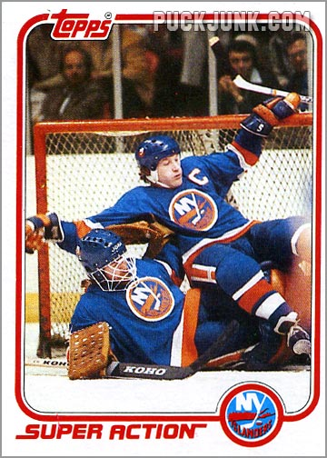 Denis Potvin 1981-82 Topps Super Action card