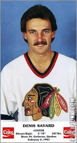 1986-87 Chicago Blackhawks - Denis Savard
