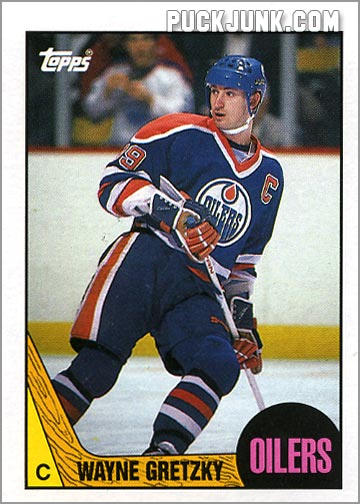 1987-88 Topps #53 - Wayne Gretzky