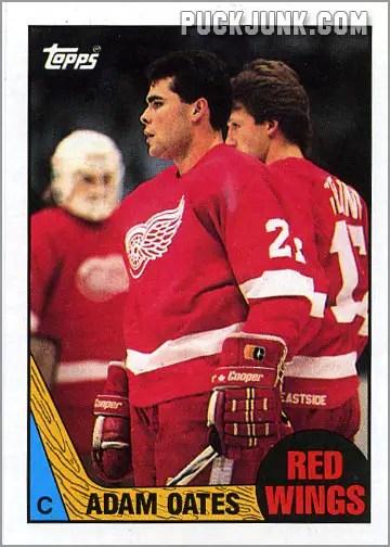 1987-88 Topps #123 - Adam Oates