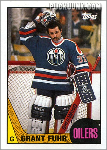 1987-88 Topps #178 - Grant Fuhr