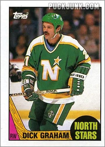 1987-88 Topps #184 - Dirk Graham