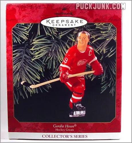 Gordie Howe Hallmark Keepsake Ornament