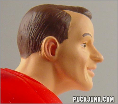 1999 Gordie Howe Ornament - close up