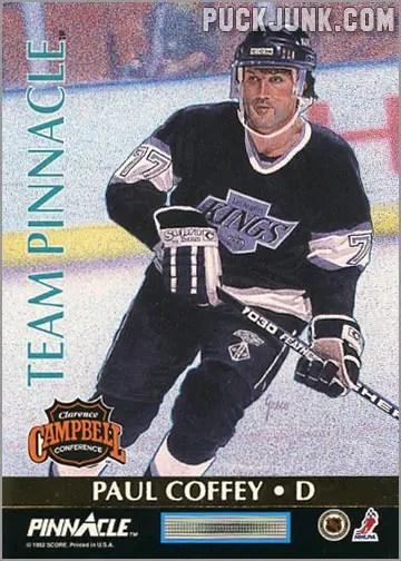 1992-93 Team Pinnacle Paul Coffey