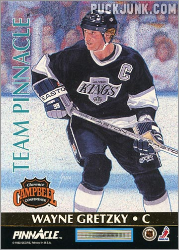 1992-93 Team Pinnacle Wayne Gretzky