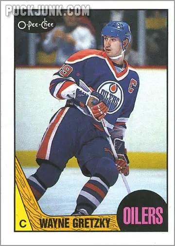 1987-88 OPC #53 - Wayne Gretzky