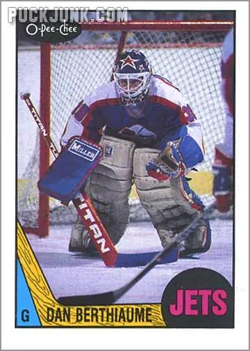 1987-88 OPC #217 - Dan Berthiaume