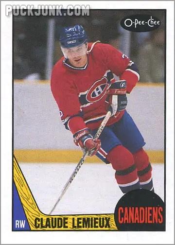 1987-88 OPC #227 - Claude Lemieux