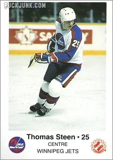 1985-86 Winnipeg Jets - Thomas Steen