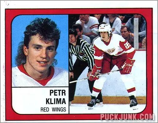 1988-89 Panini Stickers #44 - Petr Klima
