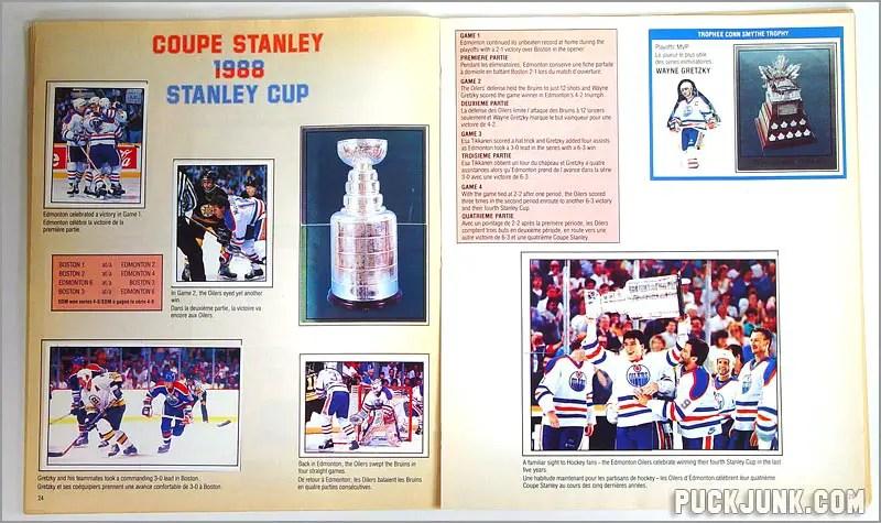 1988-89 Panini Stickers - 1988 Playoffs