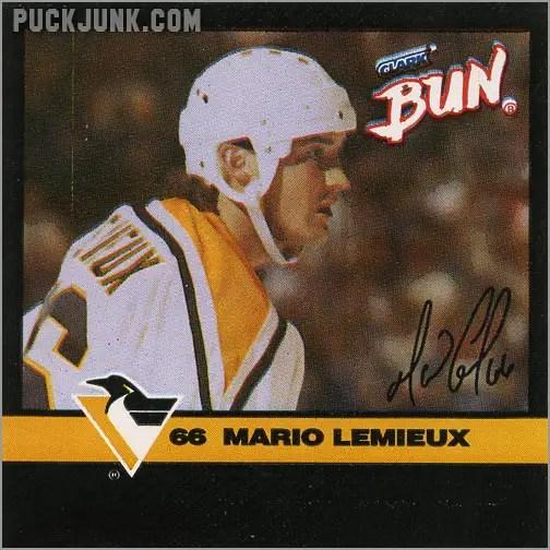 1992-93 Clark Bun Mario Lemieux #1