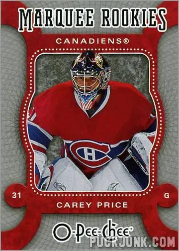2007-08 O-Pee-Chee #560 - Carey Price