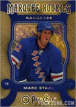 2007-08 O-Pee-Chee Micromotion Parallel #572 - Marc Staal