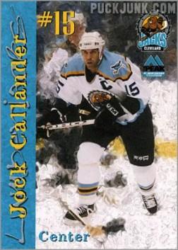 1999-00 Cleveland Lumberjacks - Jock Callendar