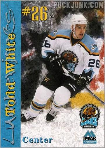 1999-00 Cleveland Lumberjacks - Todd White